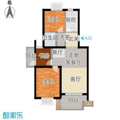 仙林诚品城90.00㎡一期58号楼1-面积9000m户型