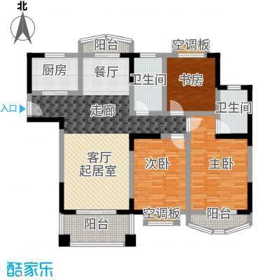 银河湾紫苑2户型