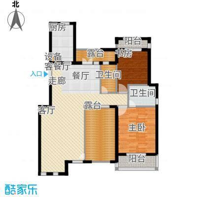 阳光聚宝山庄臻园111.23㎡二期标面积11123m户型