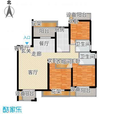 阳光聚宝山庄臻园131.93㎡一期4层面积13193m户型