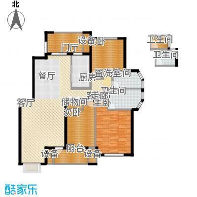阳光聚宝山庄臻园145.57㎡一期2层面积14557m户型