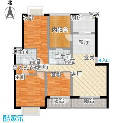 龙湖文馨苑3户型