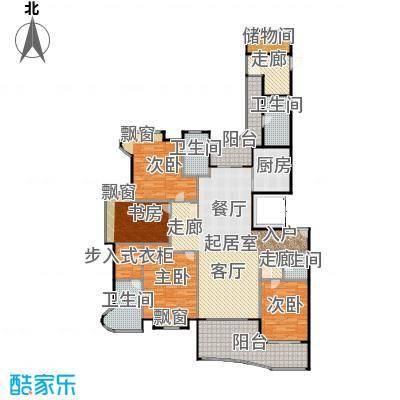 雅居乐藏龙御景218.00㎡2#3#楼大平层标准层C1户型