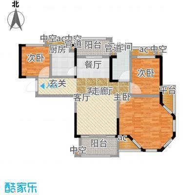 碧桂园欧洲城95.00㎡三期依云小镇标准层J246户型