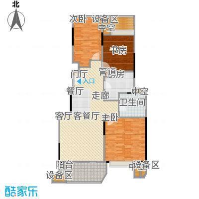 金地自在城100.00㎡5期9号楼标准层C1户型