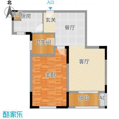 南京万达广场89.05㎡面积8905m户型