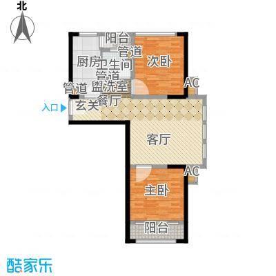 南京万达广场88.00㎡面积8800m户型