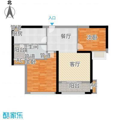 南京万达广场84.00㎡面积8400m户型