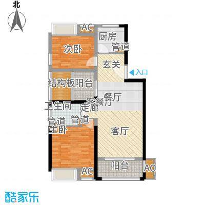 南京万达广场90.00㎡面积9000m户型