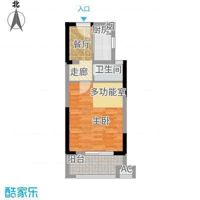 万汇新城经济适用房45.00㎡经济适用房户型