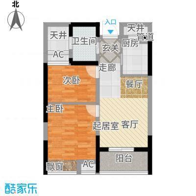 万汇新城经济适用房65.00㎡经济适用房户型