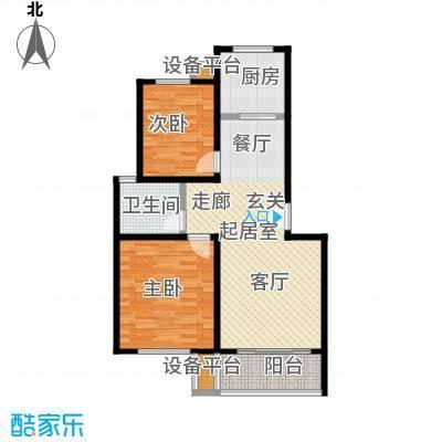 鑫龙花苑79.47㎡一期10、11、14、15、18号楼标准层A户型