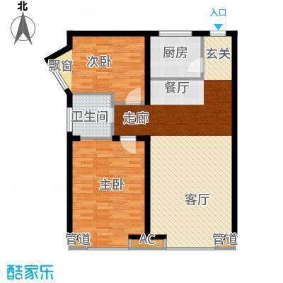 明发滨江新城92.00㎡三期Y户型