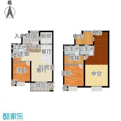 伟业金域华府160.00㎡五期65#楼标准层G12户型
