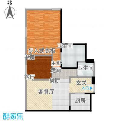 雨润国际广场142.00㎡一期洲际行政公寓标准层B4户型