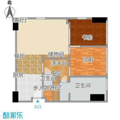 雨润国际广场120.00㎡一期洲际行政公寓标准层B1户型