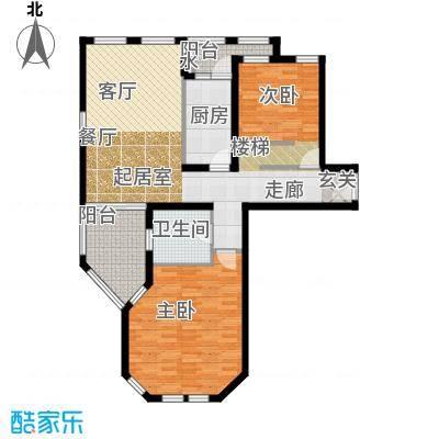 普罗旺斯102.00㎡小高层29号楼标准层C1户型