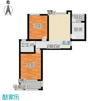 北宸新苑89.00㎡二期7、9、11号楼标准层C户型