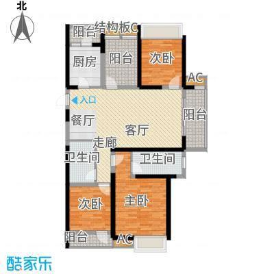 鑫苑鑫城120.00㎡5号楼高层标准层C1户型