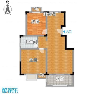 清香雅苑89.16㎡7号楼6层A2套型户型