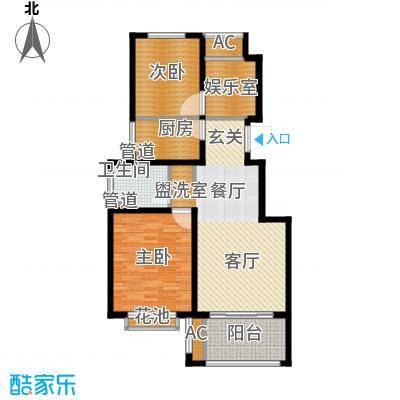 太湖相王府90.00㎡二期住宅A1户型