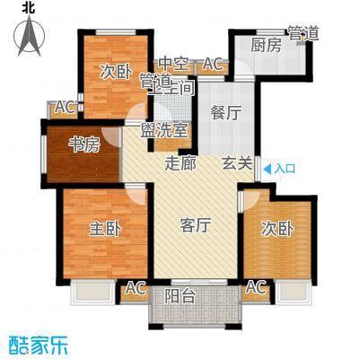 太湖相王府109.00㎡二期住宅H户型