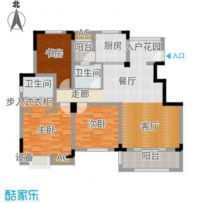 清香雅苑131.33㎡7号楼6层C2套型户型