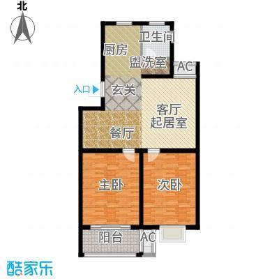双富嘉园104.13㎡四期137、139、135、155号楼标准层C户型