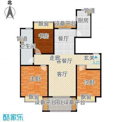 万科新都会115.00㎡1、2、3、5、6、7#宽景洋房115A户型