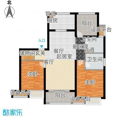 万科金域平江118.00㎡二期18#楼标准层A户型