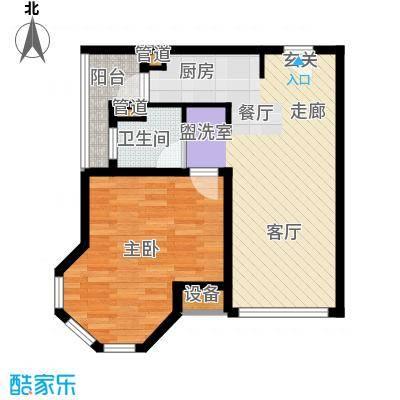 那香海国际旅游度假区56.95㎡二期22#、23#、35#、36#D2户型