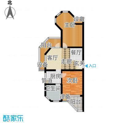 那香海国际旅游度假区94.74㎡二期22#、23#、35#、36#B3户型
