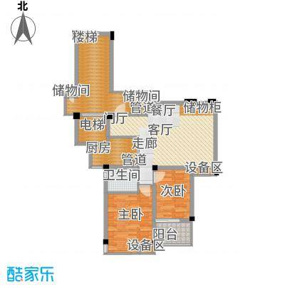尚品馨苑91.00㎡面积9100m户型