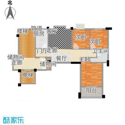尚品馨苑88.00㎡面积8800m户型