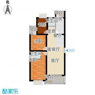 华阳华景阁135.19㎡3面积13519m户型