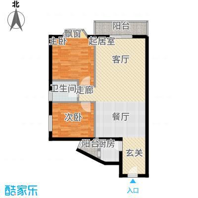 祥和御馨园79.80㎡A5型1面积7980m户型
