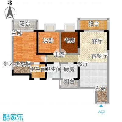 新东福花园265.00㎡面积26500m户型