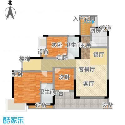 新东福花园184.00㎡面积18400m户型