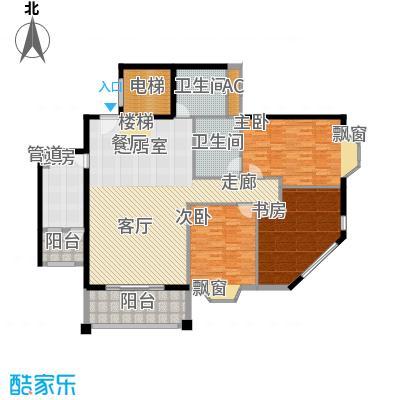 祥和御馨园169.80㎡D1型2面积16980m户型
