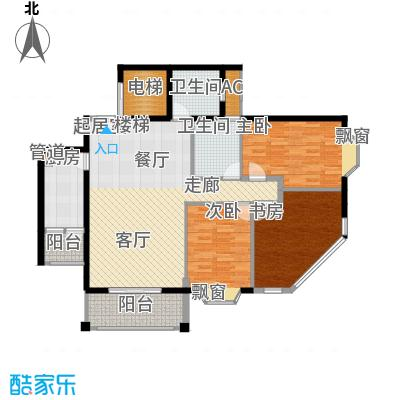 祥和御馨园169.80㎡D1型(下)面积16980m户型