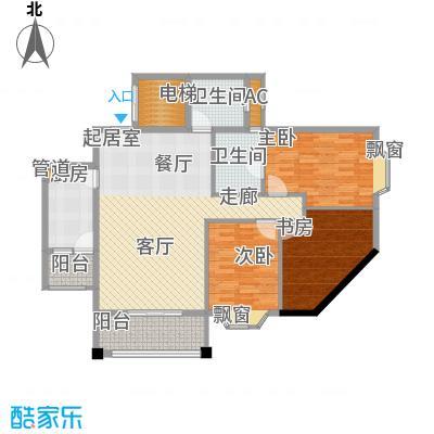 祥和御馨园104.39㎡C1面积10439m户型