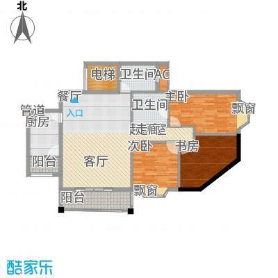 祥和御馨园104.44㎡C1型2面积10444m户型