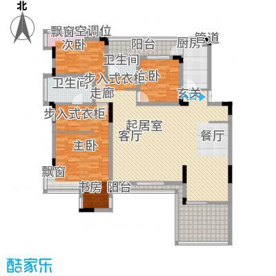 金科天籁城紫园户型