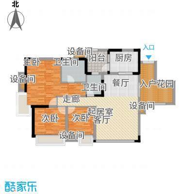 蓝色星空109.57㎡狮子座4号楼2/3面积10957m户型