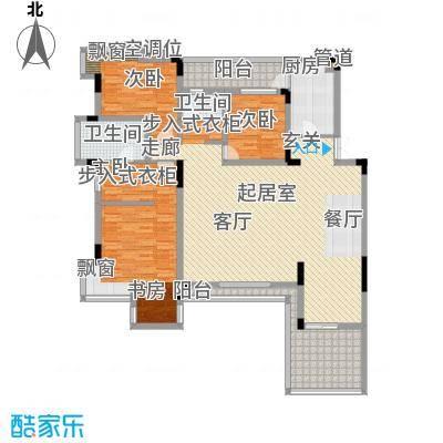 金科天籁城紫园A2户型