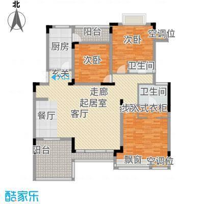 金科天籁城紫园A5户型