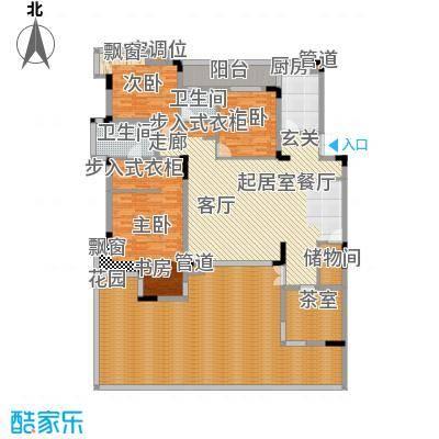 金科天籁城紫园A3户型