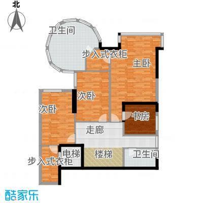 海棠晓月怡景天域236.00㎡C下面积23600m户型