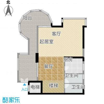 海棠晓月怡景天域236.00㎡C上面积23600m户型