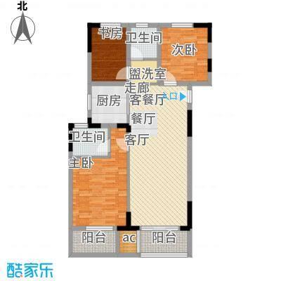 仁恒G53公寓113.00㎡面积11300m户型